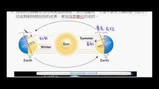 國三地球科學_公轉與四季變化【莫斯利國中自然科學】