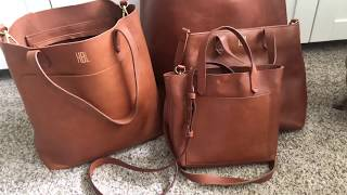 Madewell collection of handbags, transport totes, and crossbody bags