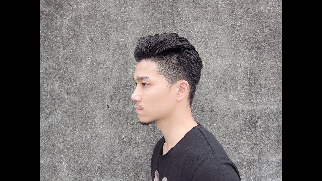 All Back Hair Style with FLAGSHIP BLACK SHIP Pomade  YouTube