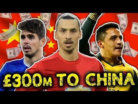 Chinese Clubs In £300 Million Premier League Raid! | Transfer Talk