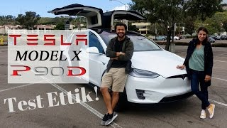 Tesla Model X'i Amerika'da test ettik! Vlog#19