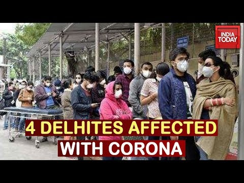 India Battles Covid-19: 4 People From Delhi Tested Positive For Coronavirus