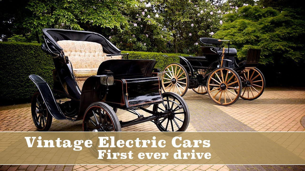 Vintage Electric Cars - First Drive - YouTube