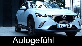 All-new Mazda CX-3 (2016) preview exterior & interior & driving shots - Autogefühl
