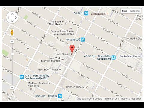 Модуль Google Map для Joomla 2.5  - 3.x