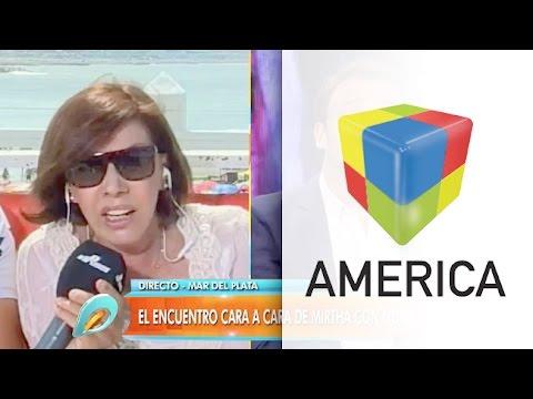 Nora Carpena tuvo un fuerte cruce con Adrián Pallares
