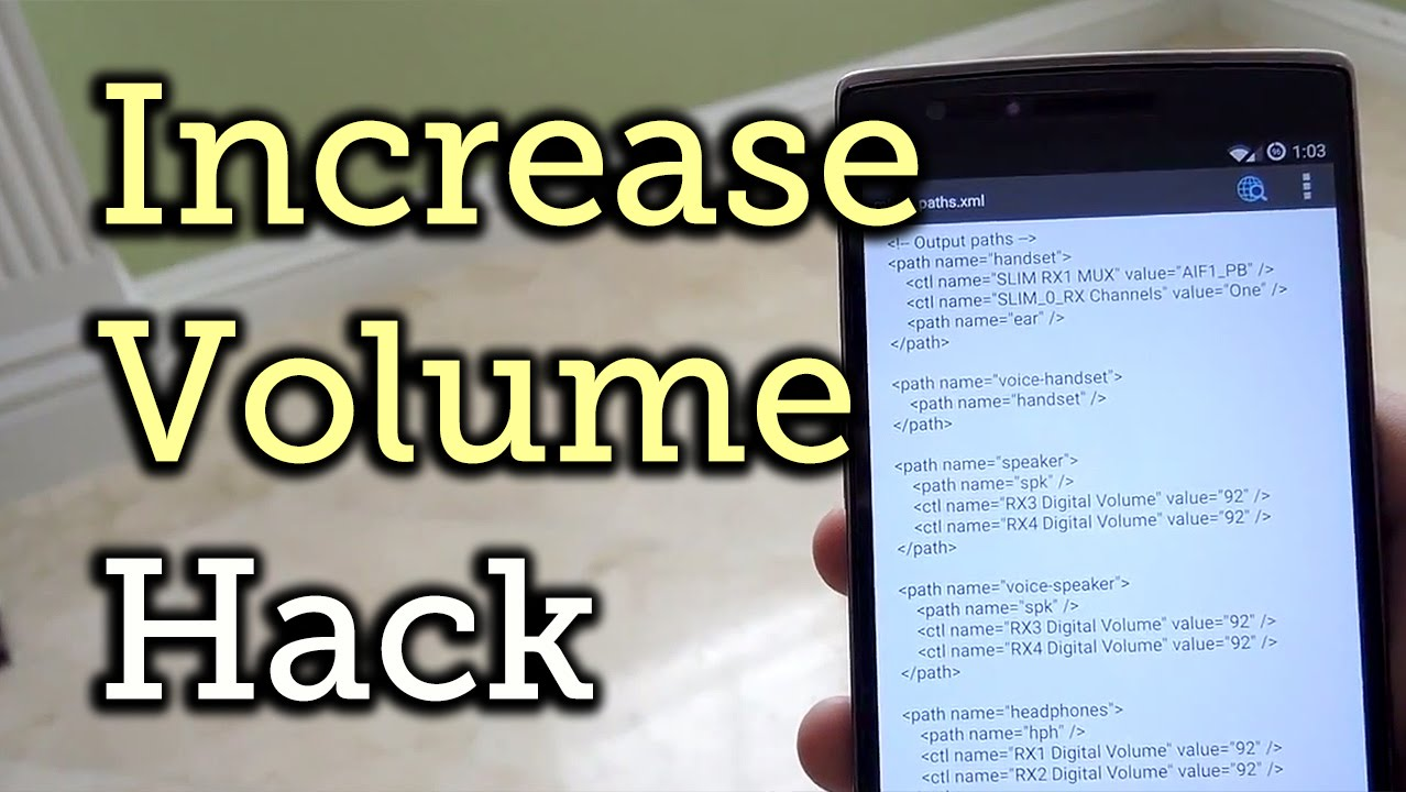 Boost Your OnePlus One's Volume in Less Than One Minute [How-To]