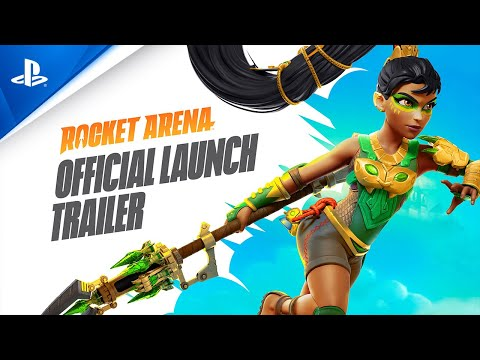 Rocket Arena - Official Launch Trailer | PS4