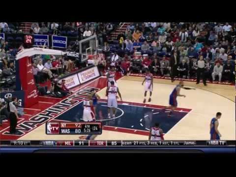 The Jeremy Lin Show Vs. Washington Wizards (2/8/12)
