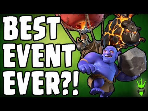 Thumbnail: THE BEST EVENT EVER?! - Completing the BoLaLoon - Clash of Clans - TH10 GoBoLaLoon Attacks!