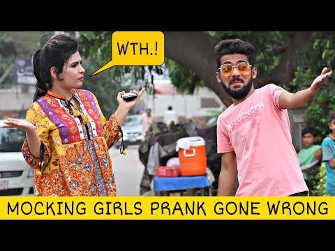 Mocking Girls (Muh Chidana) | Prank In Pakistan