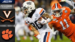 Virginia vs. Clemson ACC Championship Full Game | 2019 ACC Football