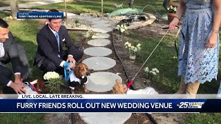 Wedding venue unveiled at Furry Friends