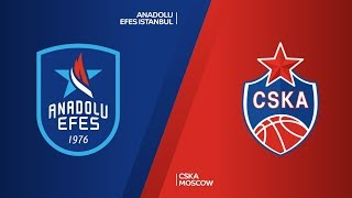 Anadolu Efes Istanbul - CSKA Moscow  Highlights | Turkish Airlines EuroLeague Championship Game