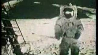 Apollo 17 Moon walk - Geological exploration of the moon