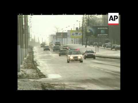 RUSSIA: BORIS YELTSIN'S BODYGUARD MAKES HEADLINES