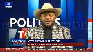 Iwuanyanwu Commends INEC For Ban Of Phones At Polling Booths | Politics Today |
