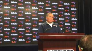 Bill Belichick says Jay Ajayi, like Tom Brady, was taken later than he should have been in the draft