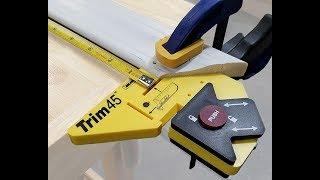 Milescraft 8401 Trim45 - Trim Installation Tool, Carpentry Aid