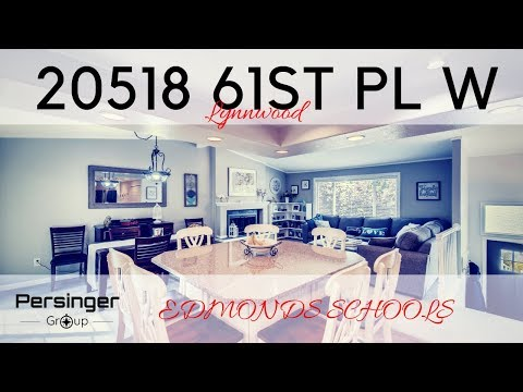 Lynnwood Home For Sale |  Edmonds School District | Real Estate Video By PersingerGroup.com