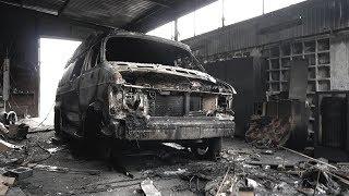 Пожар в гараже уничтожил уникальные автомобили