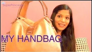 Whats In My Carry On Handbag | Charles and Keith Handbag| SuperPrincessjo