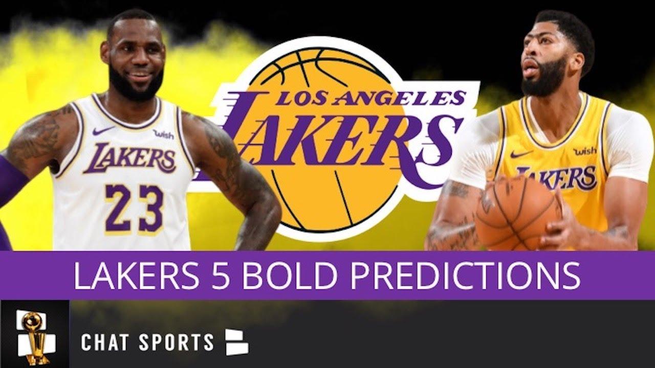 Lakers Season Predictions Lebron Leads Nba In Assists Ad Wins Mvp Lakers 2020 Nba Champions