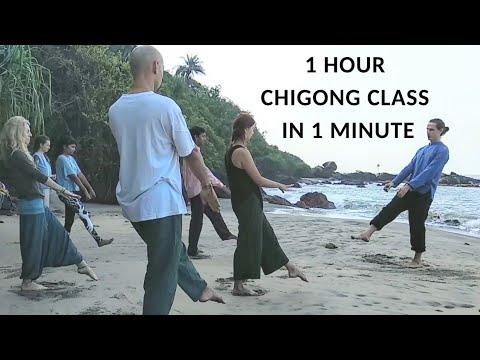 QiGong. 1 hour class in 1 minute