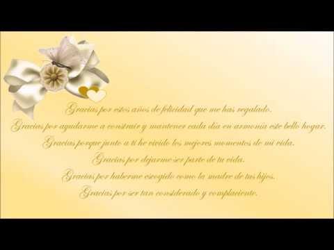 Tarjeta animada de aniversario de bodas youtube for Regalos de aniversario de bodas para amigos