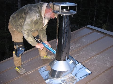 House Building Part 9: Chimney Install