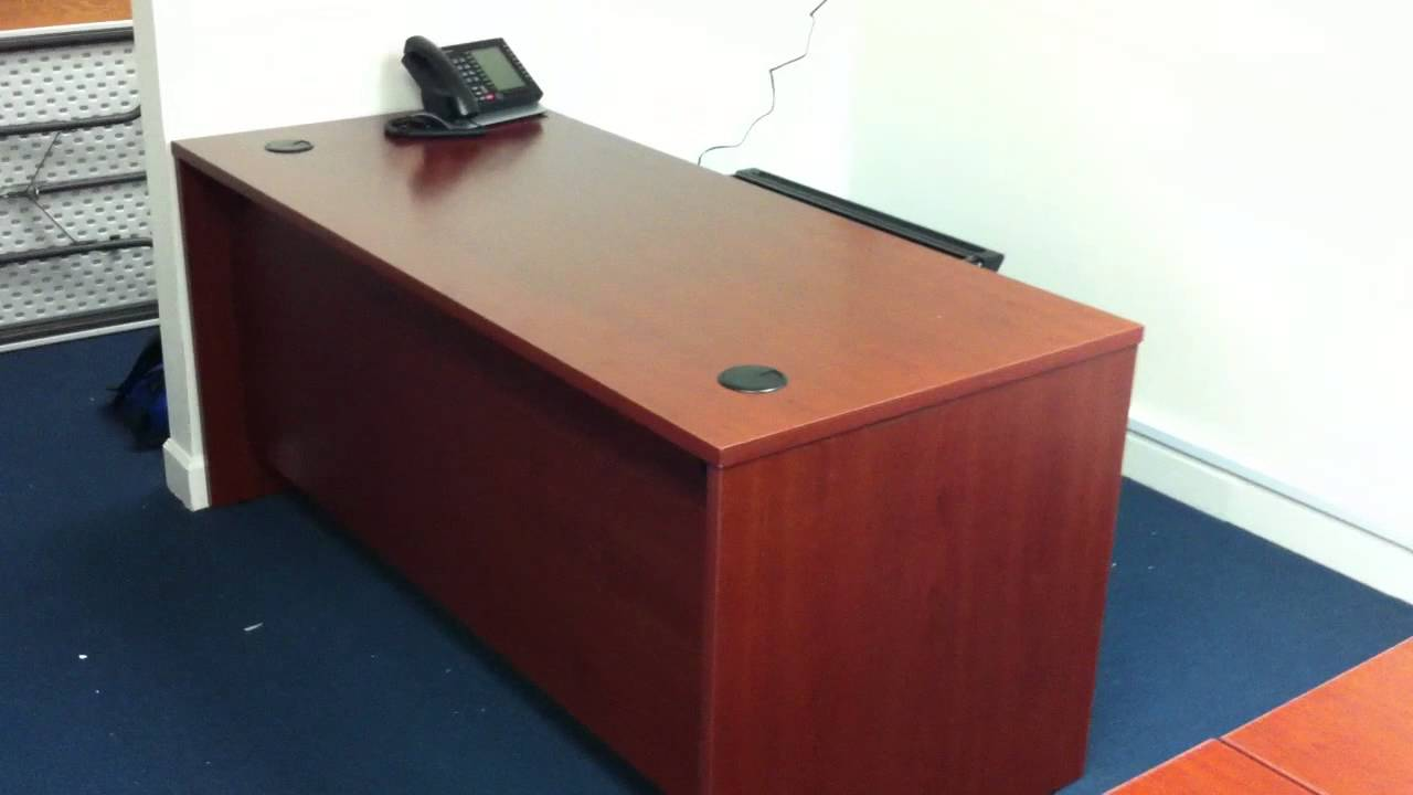 Bush Office Desk Assembly Service Video In Herndon Va By Furniture Assembly  Experts LLC