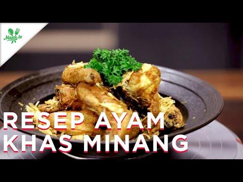 Resep Ayam Khas Minang