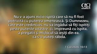 Ascultă Biblia: 1 Corinteni 10-13