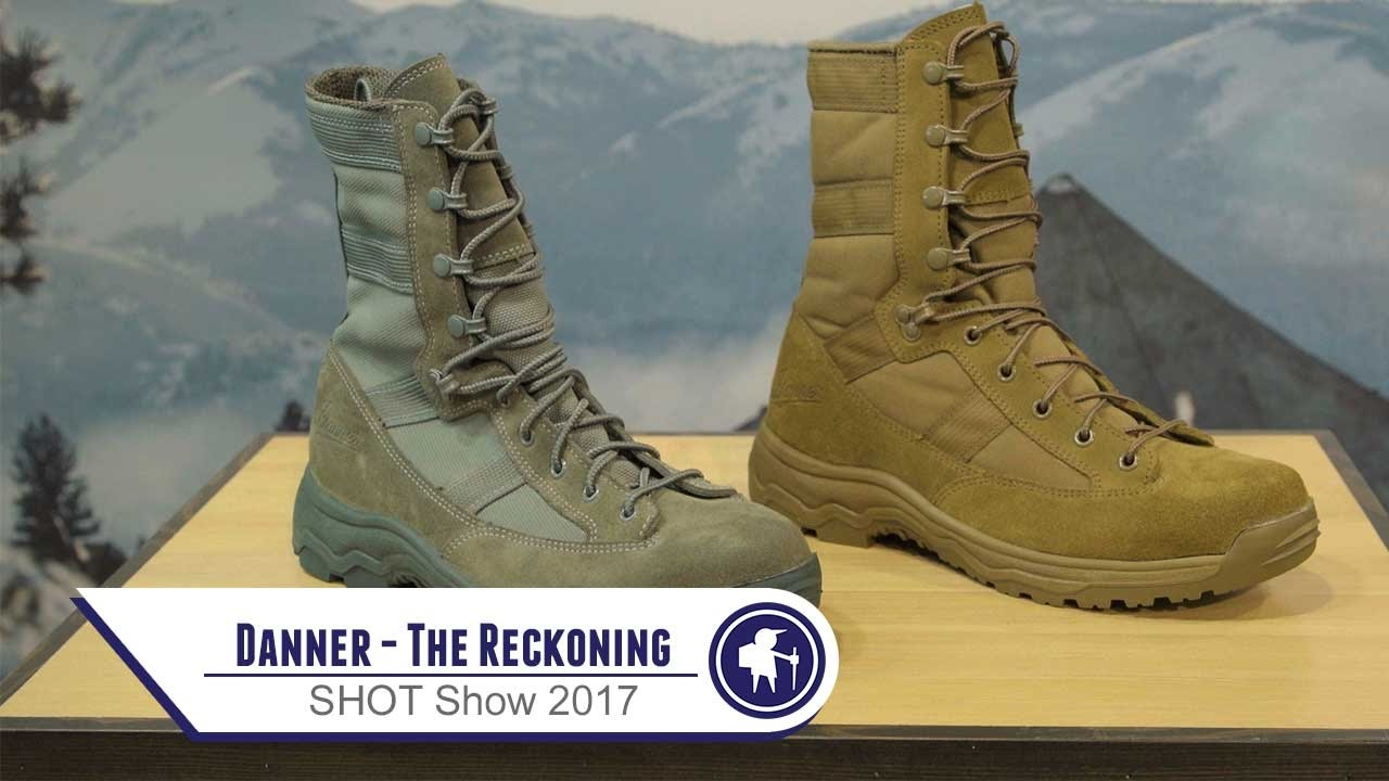 Danner The Reckoning Shot Show 2017 Youtube