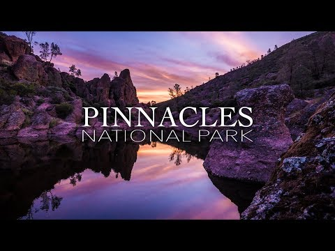 Pinnacles National Park Time Lapse in 4K