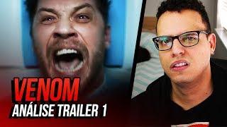ANOTA AÍ: ESSE FILME DO VENOM SERÁ UMA BOSTA 💩 (Venom, 2018 - Análise Teaser Trailer)