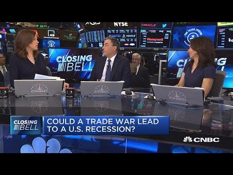 Could a trade war lead to a US recession?