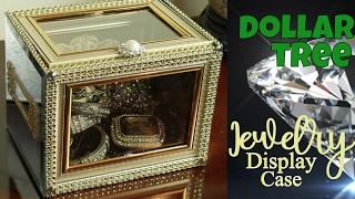 💥🔆💍EZ Dollar Tree Jewelry Display Case: Do-it-Yourself Bling Case from Dollar Tree to YOU!