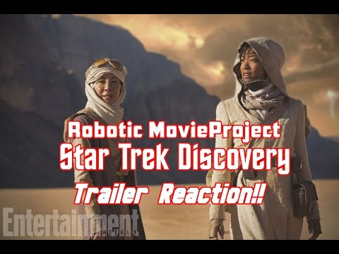 Thumbnail: Star Trek Discovery Trailer Reaction