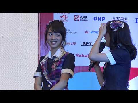 Ayana Shahab & Adhisty Zara JKT48 Promosi Hakodate, Hokkaido Festival, BSD Serpong 30-09-2018