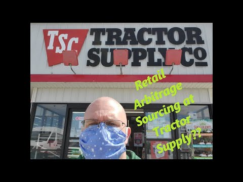 Retail Arbitrage Sourcing At Tractor Supply For EBay  Sourcing Episode #2