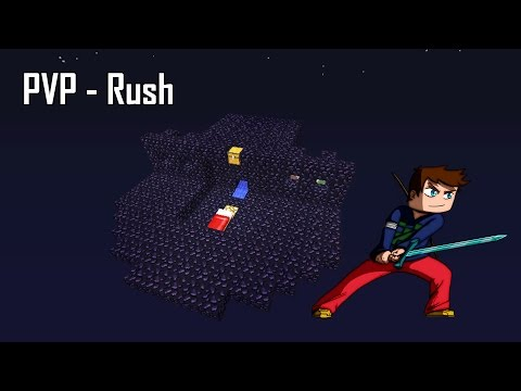 Lundi PiViPi - Rush sans arc - Minecraft PVP