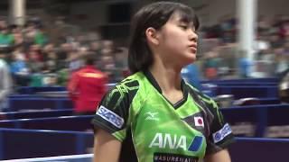 【ハイライト】ドイツOP 女子シングルス 予選グループ 長﨑美柚vsジャン・モー