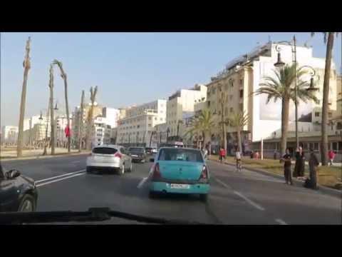 شارع محمد السادس بلايا طنجة 29 06 2016 tangier morocco
