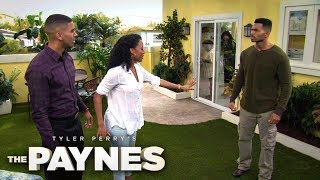 Terrance Confronts Kendrick About Hitting Nyla | Tyler Perry's The Paynes | Oprah Winfrey Network