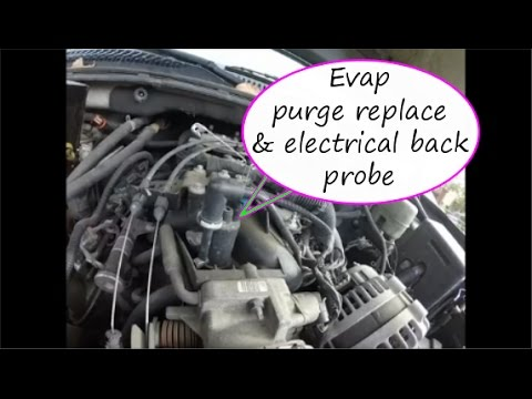 Evap Purge Solenoid How To Replace Check For Power 5 3 4 8 6 0 Youtube