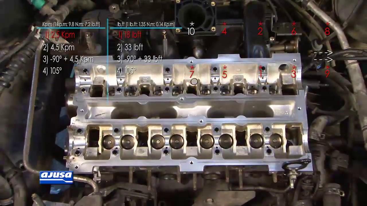 Cylinder Head Bolts Tornillos Culata Ford Mondeo 2 0 16v