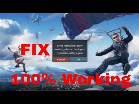 FIX Rules of Survival Error Retrieving Server Version PC % Working