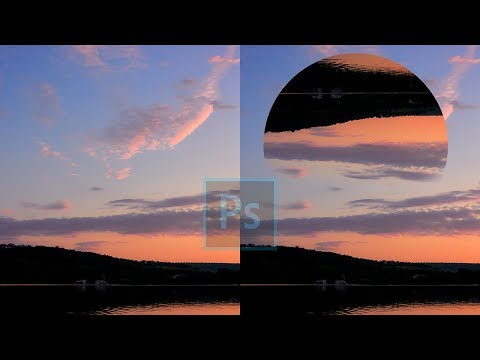 """How To Make """"Geometric Reflections"""" In Photoshop 