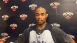 Pelicans G Jarrett Jack on his return to New Orleans